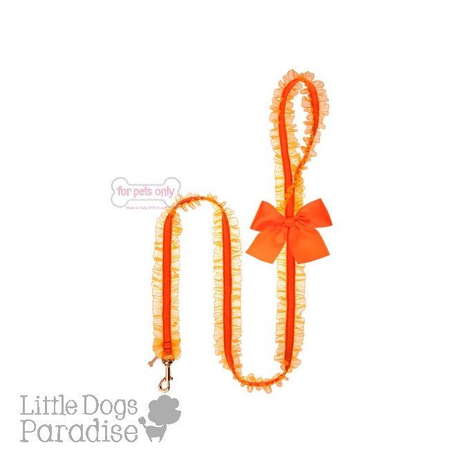 Lingerie Leash Fluo Orange