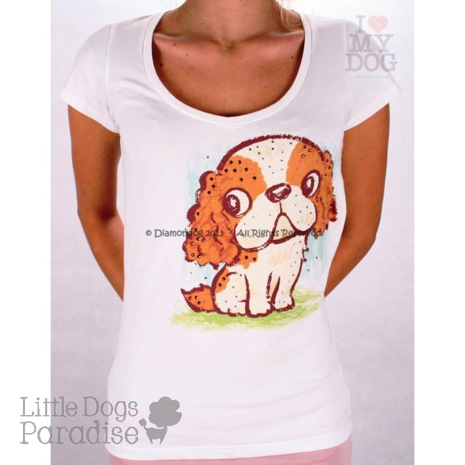 Cavalier King Women T-Shirt