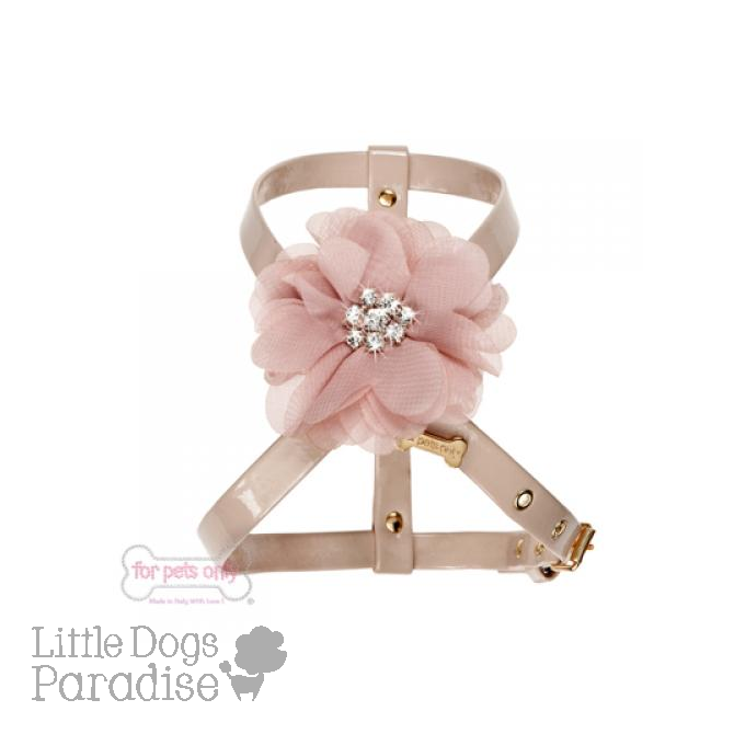 Diamond Flower Harness - Pink