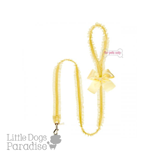 Lingerie Leash Giallo