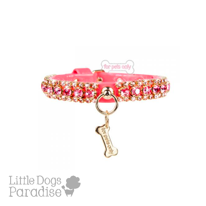 Angel's Diamond Collar - Rosa