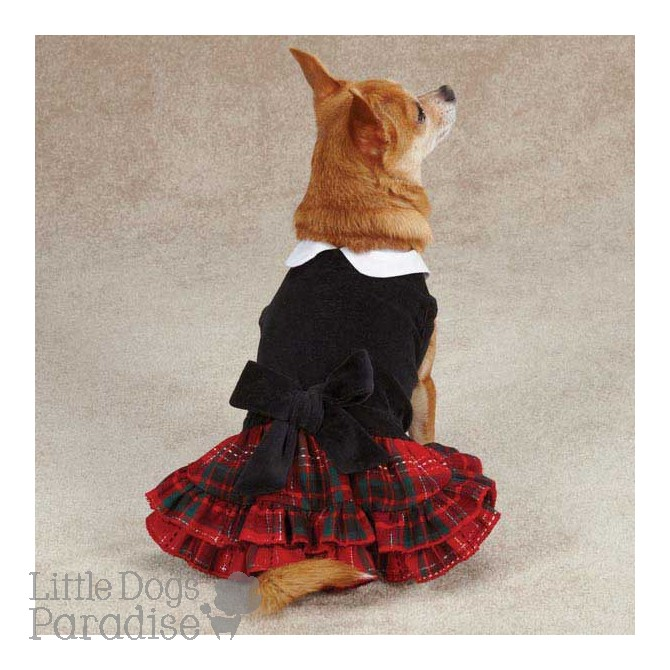 Yuletide Tartan Dress