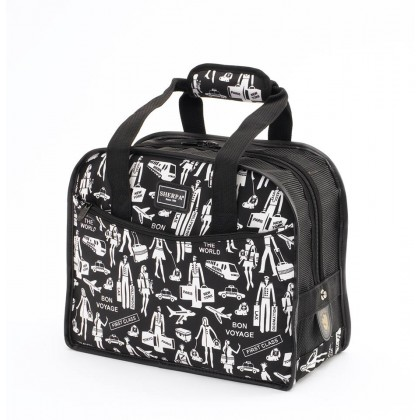 Sherpa Travel Print Tote Around Town