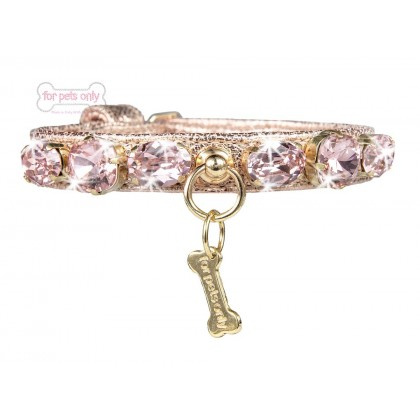 Miracle Collar Rose Gold Ecoleather Collar