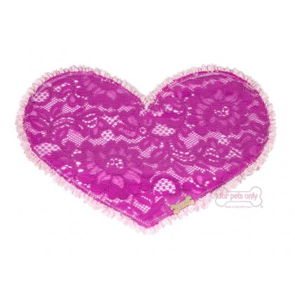 Lovely Lunch Time Fucsia Lace