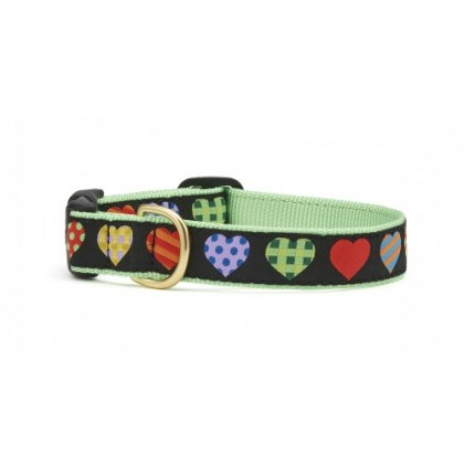 Colorful Hearts Collar