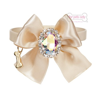 Diamond Love Collar - Beige