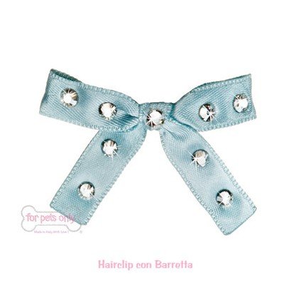 Sparkling Bow - Light Blue