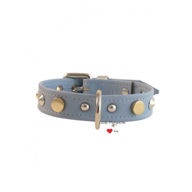 Leather Mix Collar