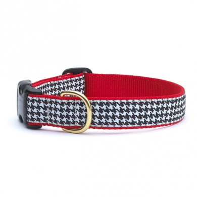 Classic Black Houndstooth Collar